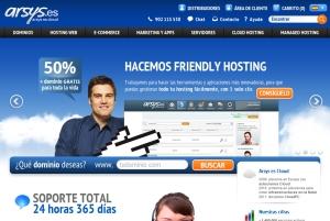 el primer paso para crear nuestra web es comprar un dominio